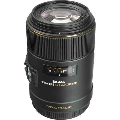 Sigma 105mm f/2.8 EX DG OS HSM Macro Lens for Canon EF