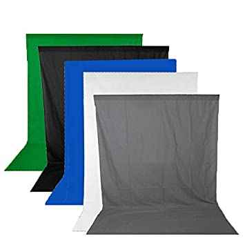 6FT x 10FT Backdrop Background Material ( COLORS)