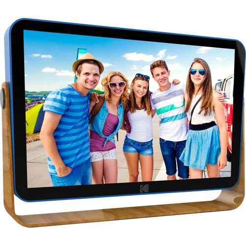 """Kodak 10"""" Digital Picture Frame with Wi-Fi and Multi-Touch Displ"""