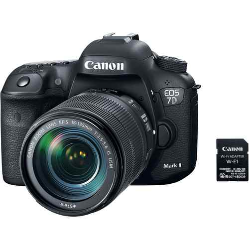 Canon EOS 7D Mark II DSLR Camera with 18-135mm f/3.5-5.6 IS USM