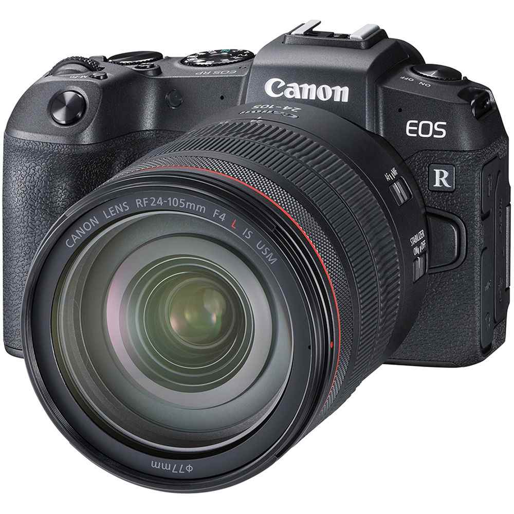 Canon EOS RP Mirrorless Digital Camera with 24-105mm f/4 Lens