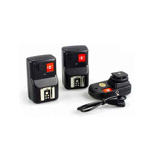 Wireless Flash Transmitter Receiver Kit for Canon