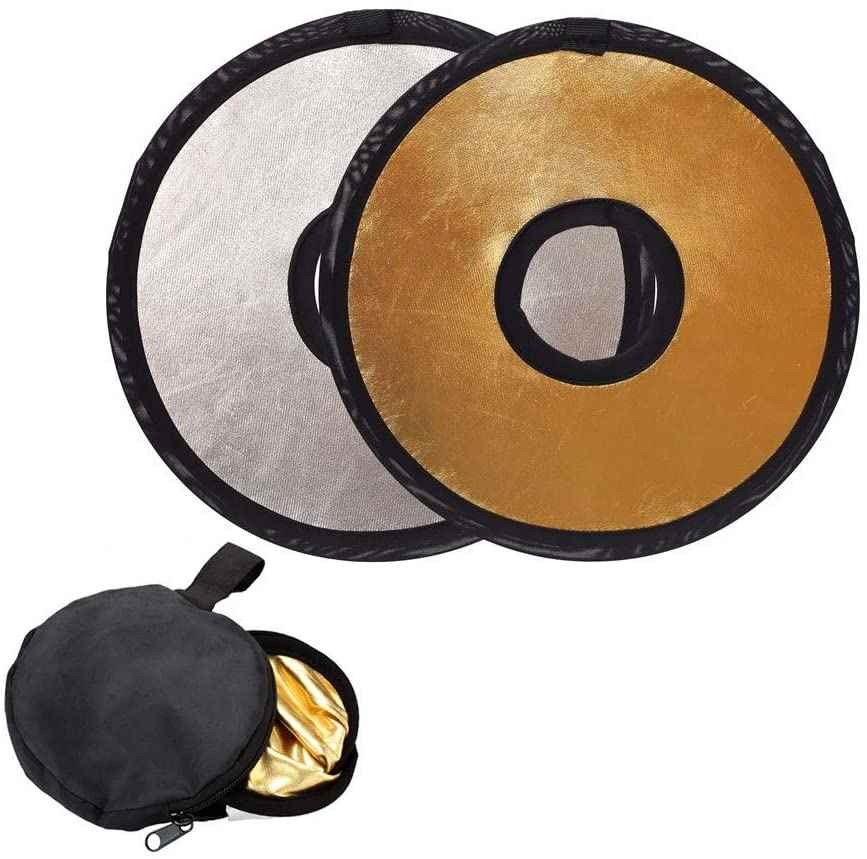 12 inch 2 in 1 Lens Reflector for Portrait Macro Photography