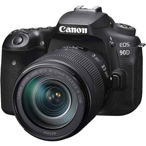 Canon EOS 90D DSLR Camera with 18-135mm Lens